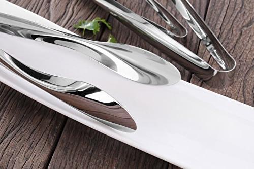 Artaste 43167 Stainless Utility Set of 3, Silver