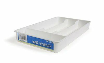 43508 white cutlery tray