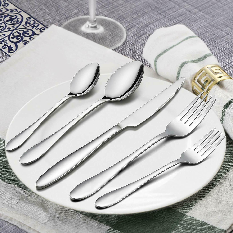 Flatware Set Service 8 Cutlery Silverware