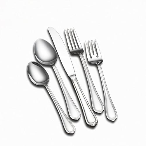 5201096 nouveau stainless steel flatware