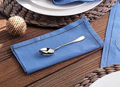 Artaste 56396 Stainless Espresso Spoon,4.85-Inch, Set of 6,