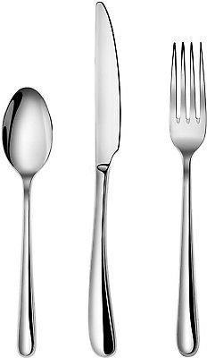 Artaste 56518 Rain II Forged 18/10 Stainless Steel Flatware