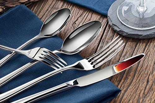 Artaste Forged 18/10 Flatware 20 Service