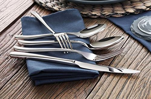 Artaste Forged Flatware Piece Service for 4,