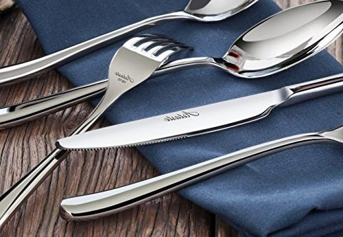 Artaste Forged Stainless Flatware 20 Piece Service for 4,
