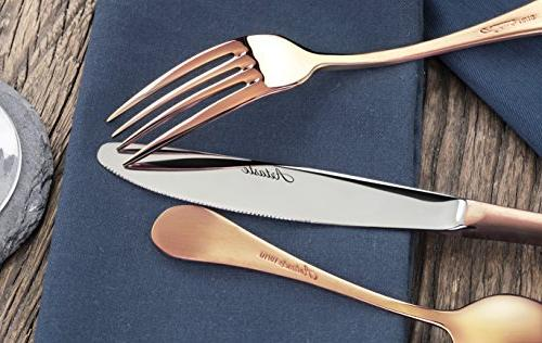 Stainless Flatware Set, for 12
