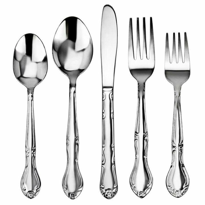 New Foodservice Rose 18/0 Steel, Dinner Fork,