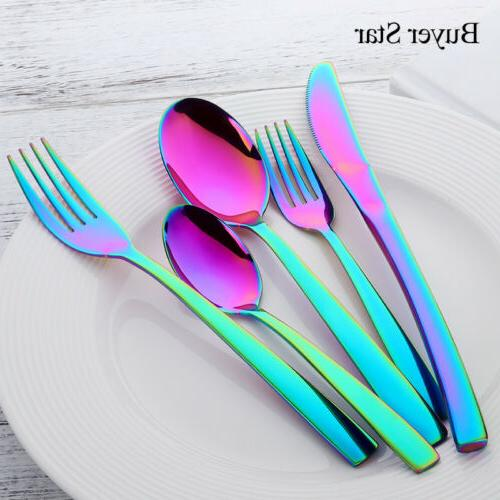 5PCS Flatware Set Upscale Dessert