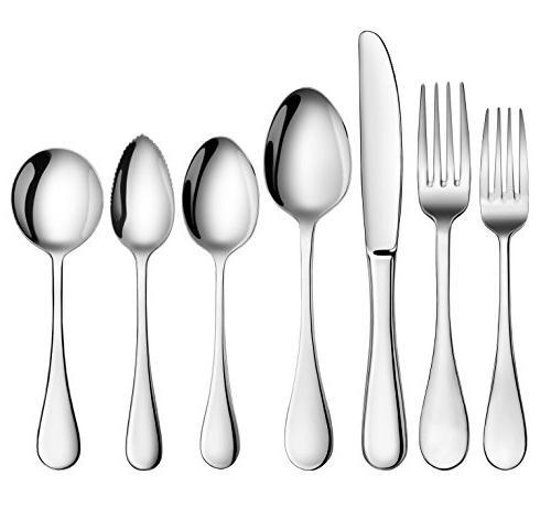 Artaste 59373 Stainless Steel Dessert Spoon, 6.35-Inch, of 6
