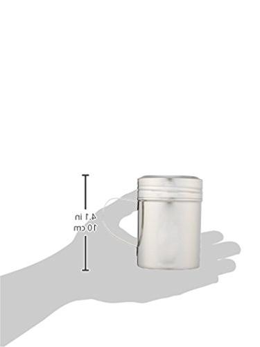 New Star Foodservice Stainless Steel Dredge Shaker with 10-Ounce, of 2