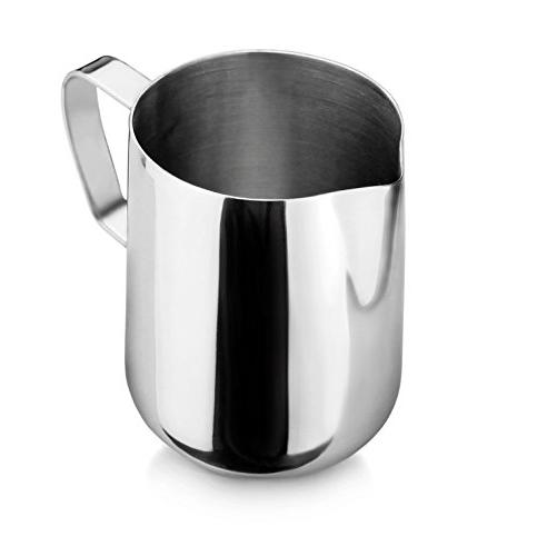New Star Commercial Stainless 18/8 Frothing 12-Ounce