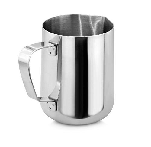 New Star Foodservice 28805 Commercial Grade 18/8 Frothing Pitcher,