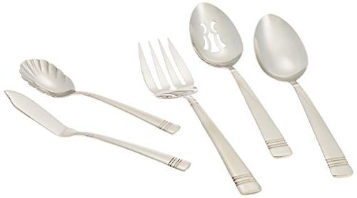 Reed & Barton II Stainless Flatware Set for 12
