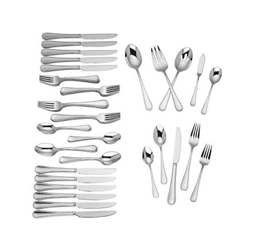 Reed & Barton, Radiant, 18/10 Stainless Steel 65 Piece Set