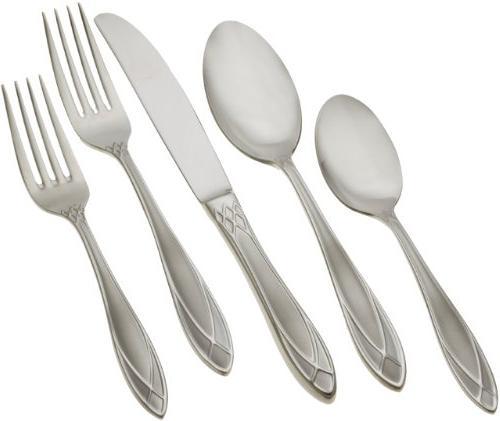 alexandra ice flatware set