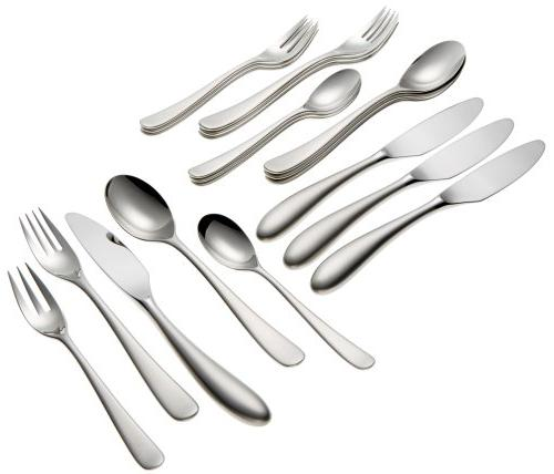 aquatique ice flatware set