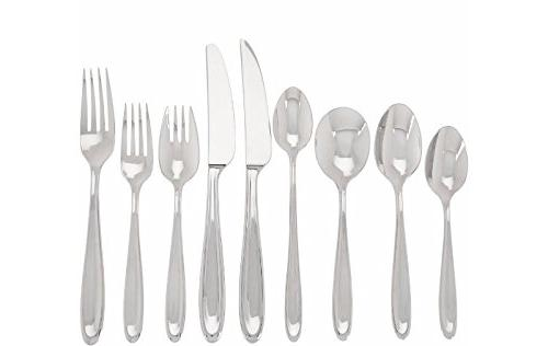 Lenox Barnaby Flatware Set plus 6 Piece Set For 12 Stainless 18/10 Classic