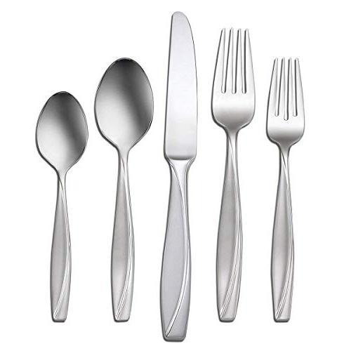 Oneida Camlynn Flatware Knives Serving & Teaspoons Dinner Silverware 18/0 Steel