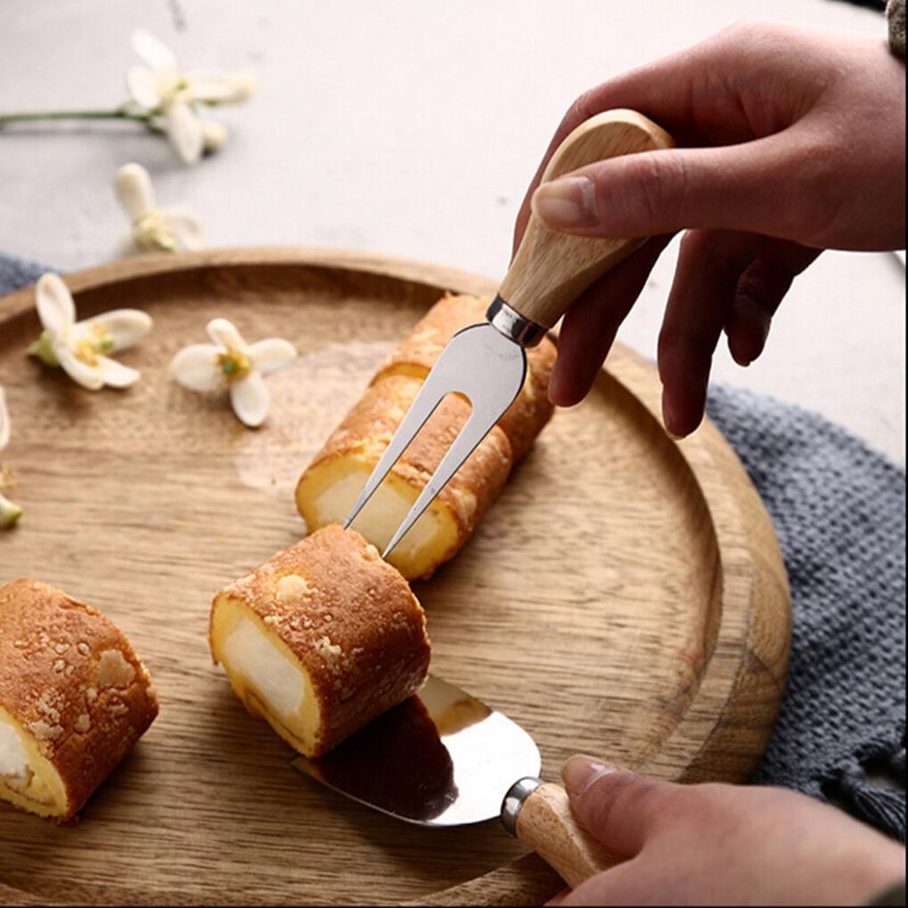 FenKicyen Cute Steel Slicers Shovels Fork Tool Baking <font><b>Flatware</b></font>