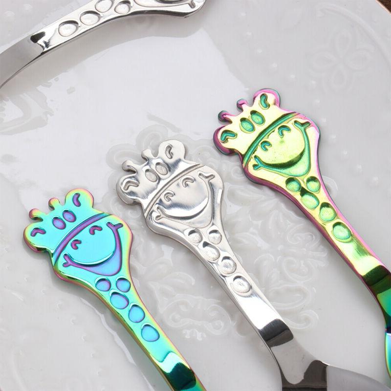 Deer & Fruit Tableware Tea Scoops Coffee Spoons