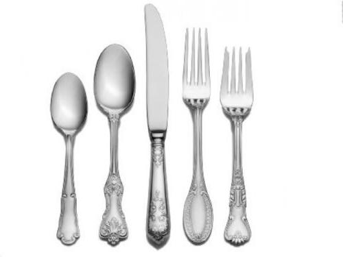 dining flatware set for 12 people party
