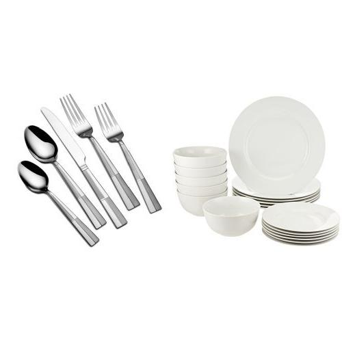 dinnerware set arabesque frost 18