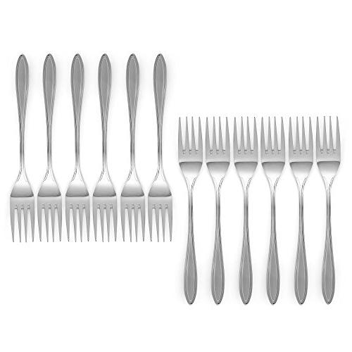 Royal Set - Stainless Steel Polished Utensils - Great Salad for Home, Kitchen, Restaurant