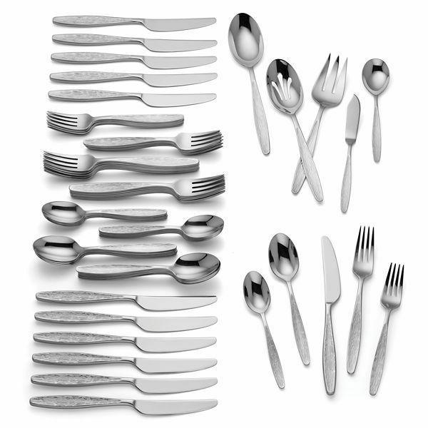 emerick 65 piece flatware set brand new