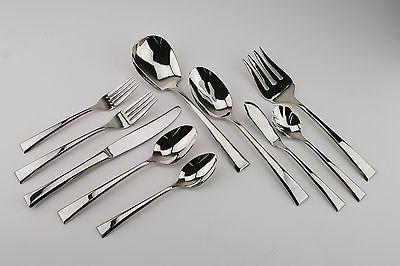 epoch lightly used 18 8 stainless flatware