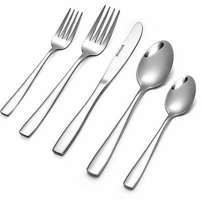 Eslite Stainless Steel Flatware Sets, 30-piece, Service for