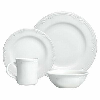 Pfaltzgraff Filigree 16 Piece Dinnerware Set