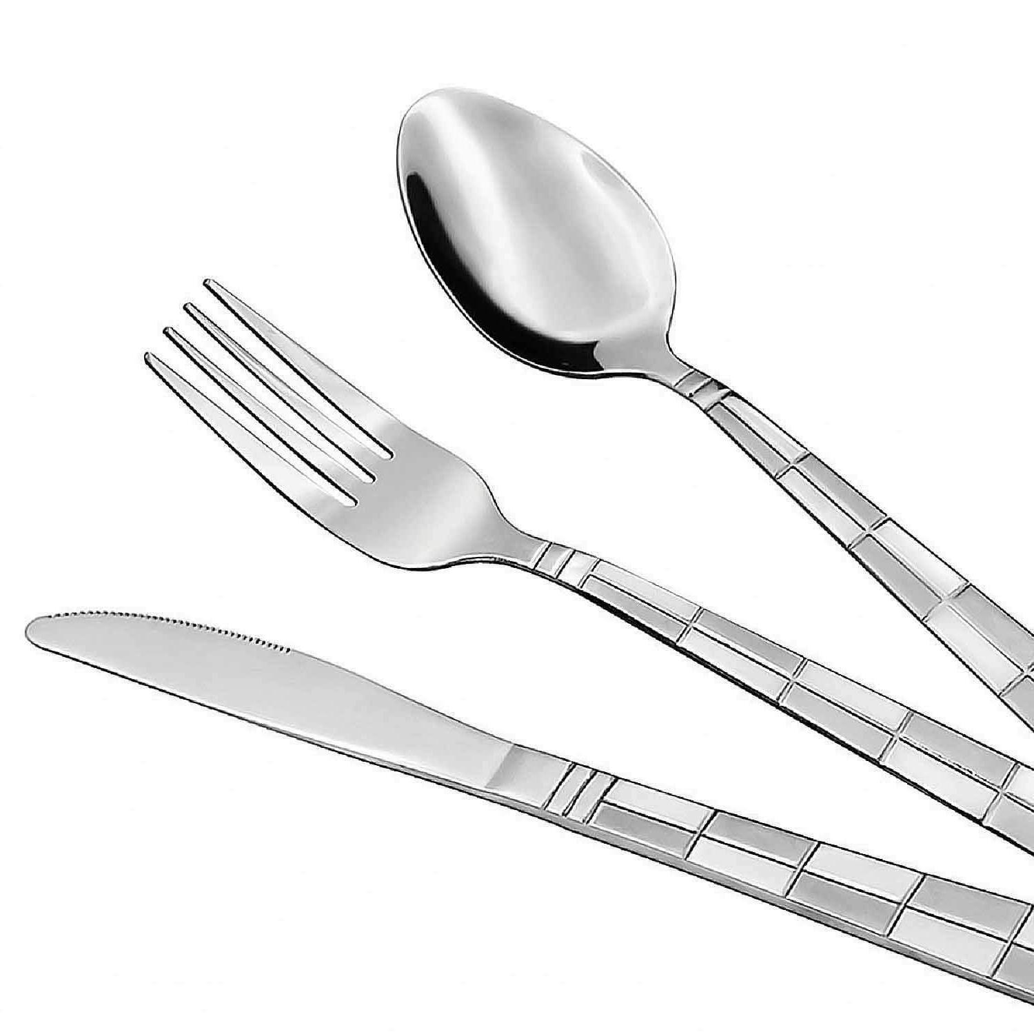 Steel Silverware Piece Spoon Fork