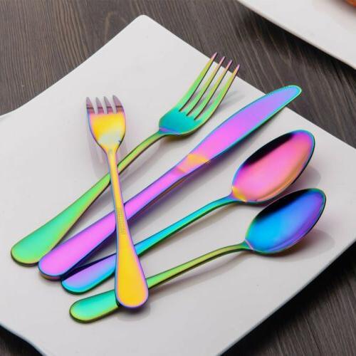 Berglander Flatware Piece Stainless Steel Color Service For