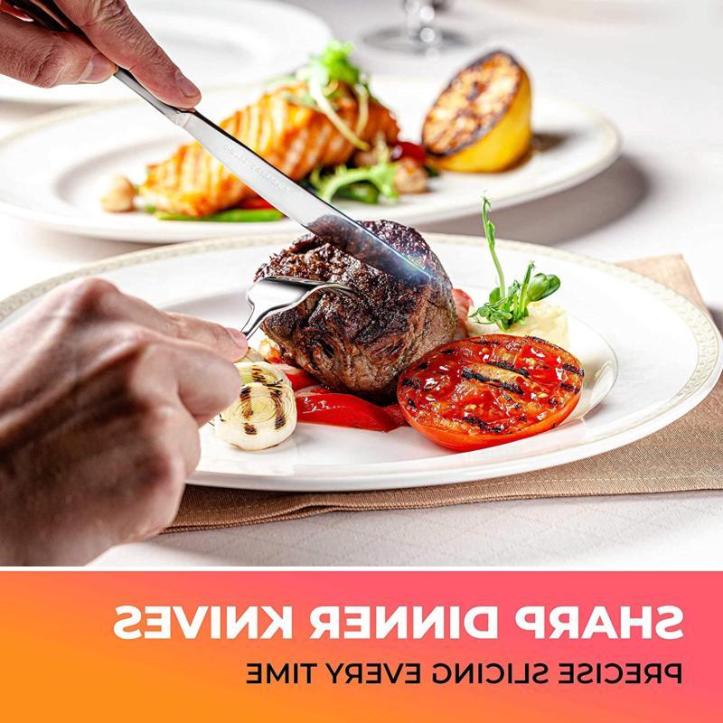 Flatware Stainless Silverware Cutlery 4