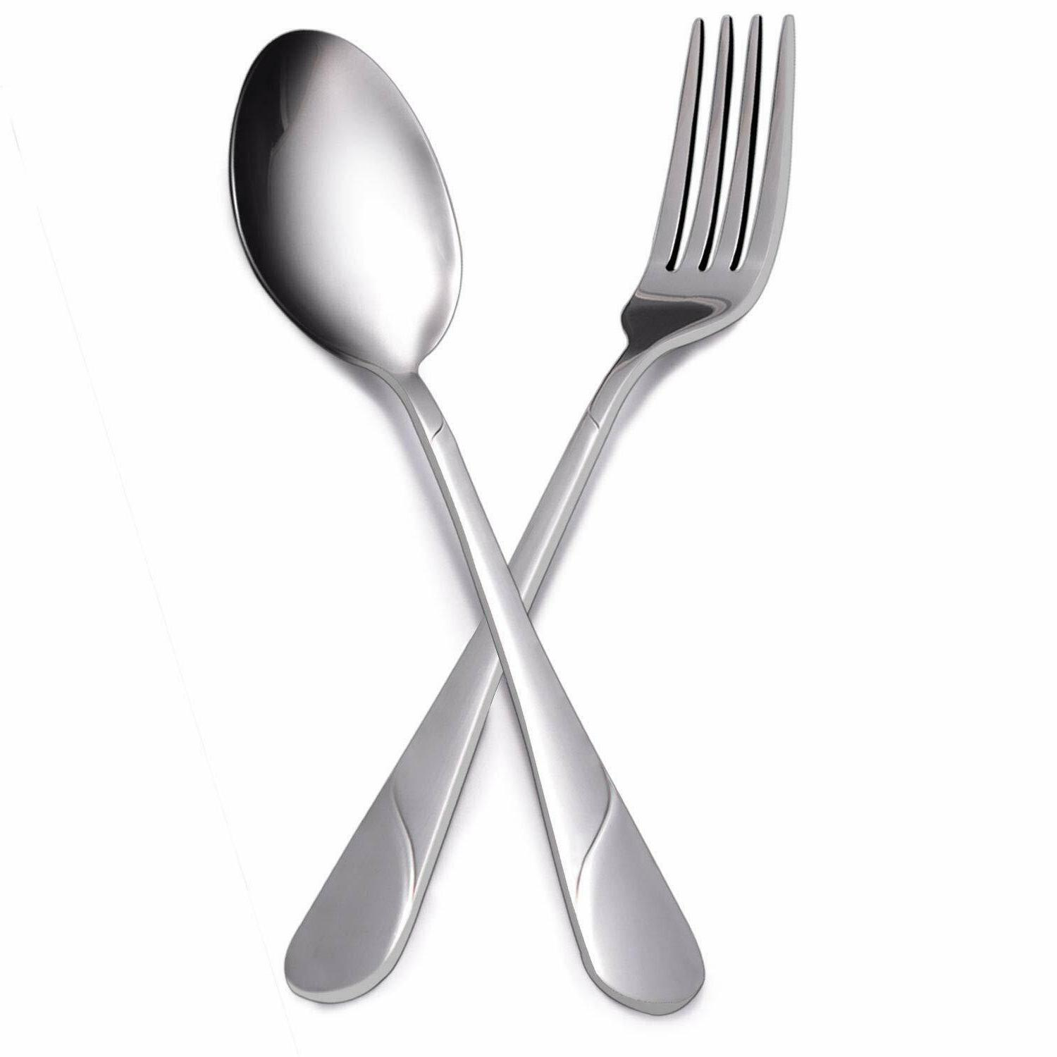 Flatware Set Service Stainless Cutlery