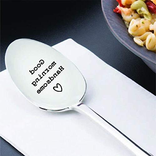 """Good """"Heart"""" Spoon - Engraved spoon Present Ideas By Creative"""