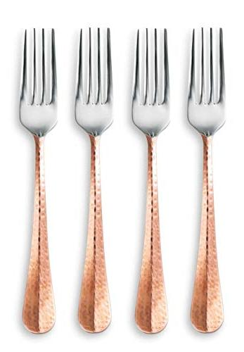 Cambridge Silversmiths Indira Jessamine Flatware Set, Copper, Service