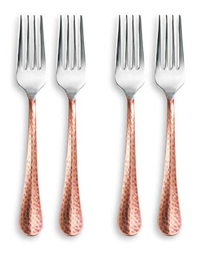 Cambridge 20 Piece Indira Flatware Copper,