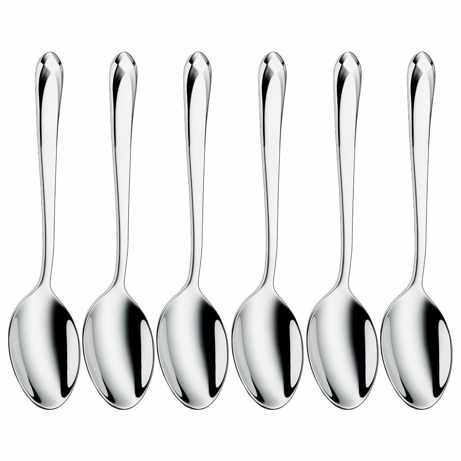 WMF Juwel Set of 6 Stainless Steel Espresso Spoons