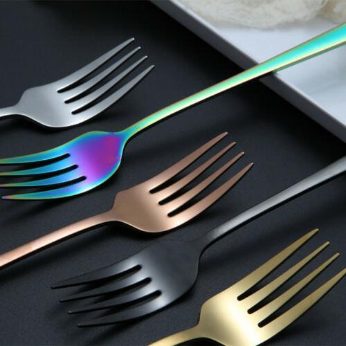 Kitchen Stainless Flatware Long Dinner Fork Cutlery