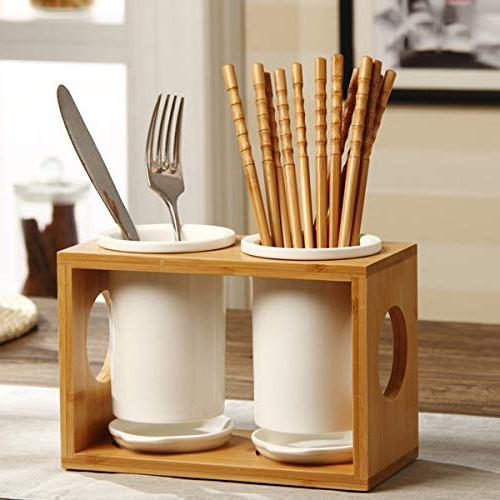 Kitchen Exquisite Ceramic Utensil Set for Party Pantry Organization and for Kitchen Dining Entertaining Buffet Halloween Christmas Gift