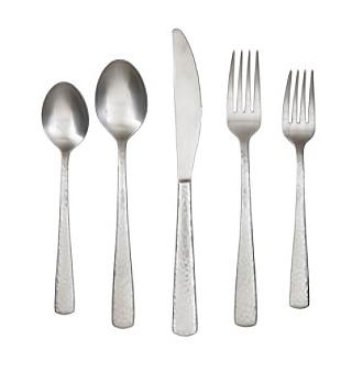 lawson satin flatware set