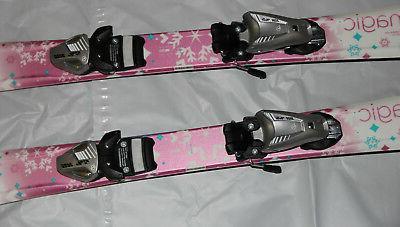 Elan Magic girls skis 100cm + tyrolia 4.5