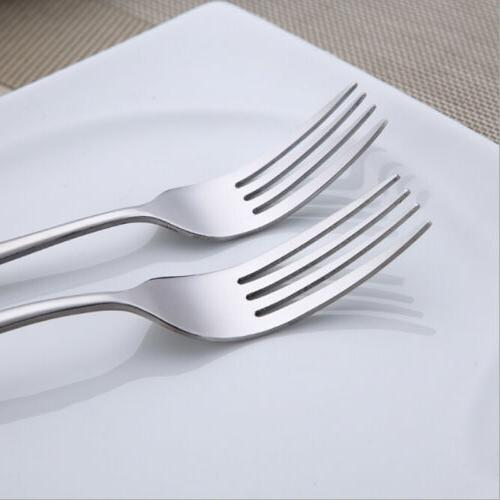 Long Handle Dinner Cutlery Dining Steak Kitchen Tool