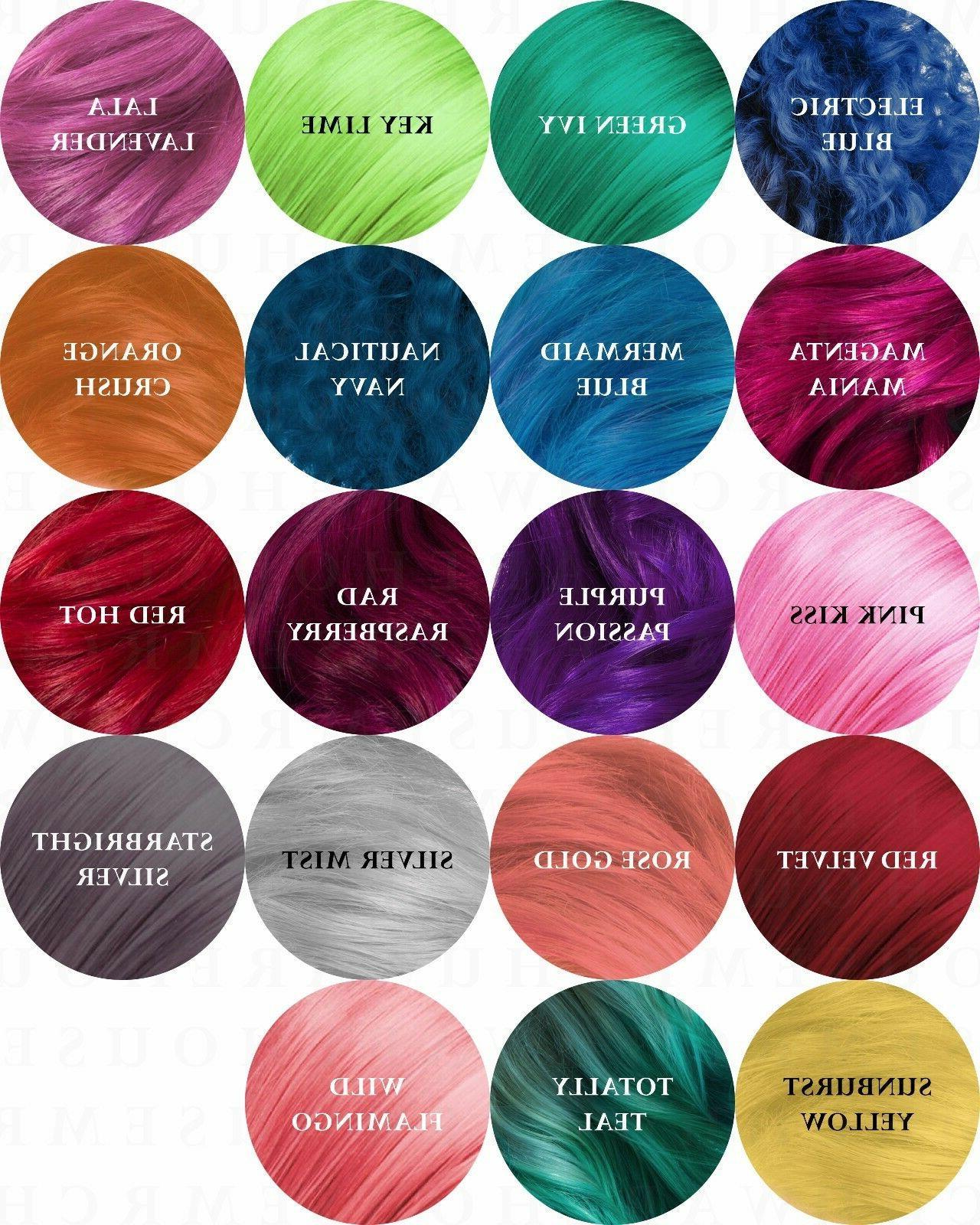 Sparks Long Lasing Bright Permanent Dye Hair Cream mL oz Pick
