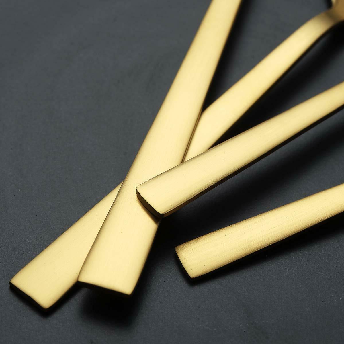 Jeaker Matte Steel Golden Set