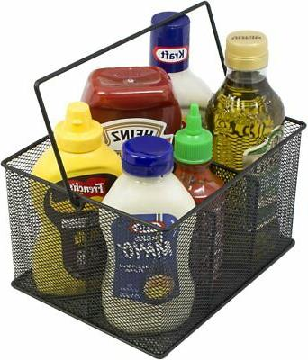Utensil Napkin Holder, and Condiment
