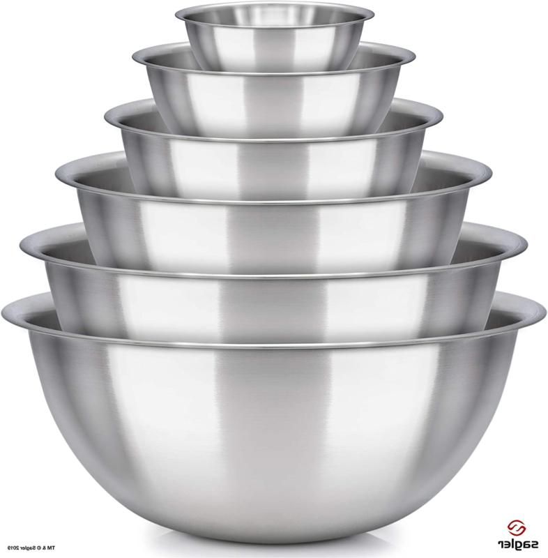 Mixing Set Steel Basin Casserole Dishes