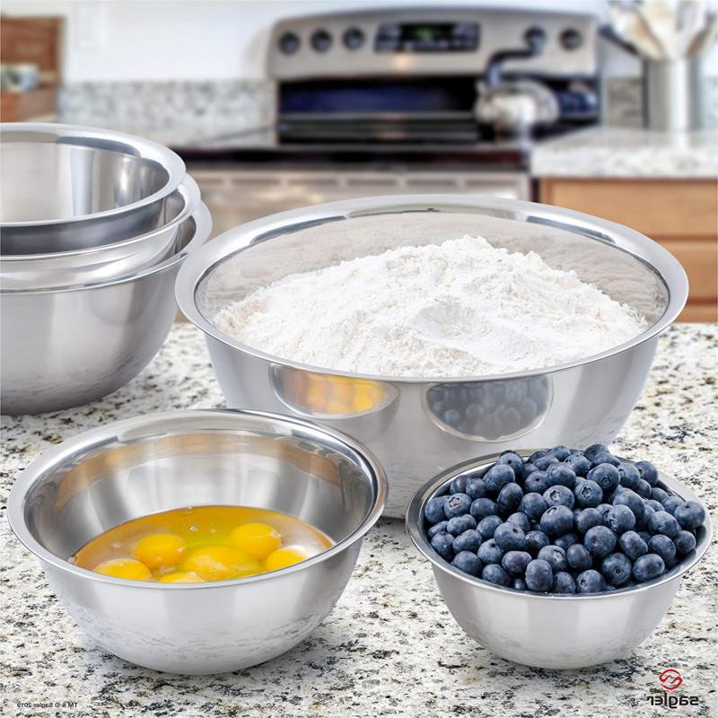 Mixing Set Stainless Steel Casserole