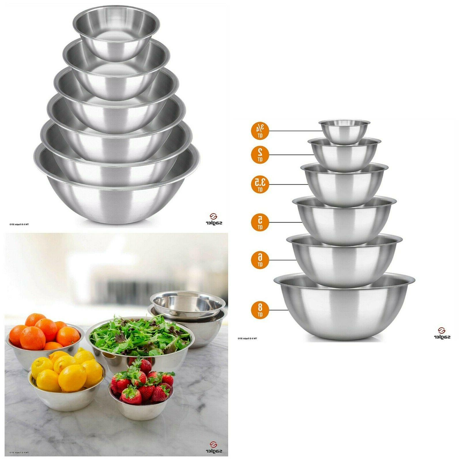 mixing bowls stainless steel bakeware polished mirror